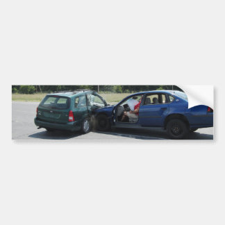 Crash Test Sticker 2 Car Bumper Sticker