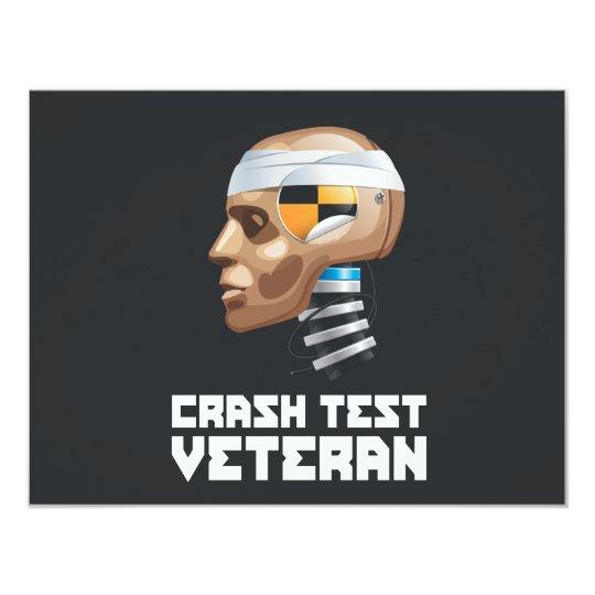 Crash Test Veteran Card