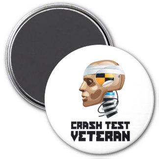 Crash Test Veteran Magnet