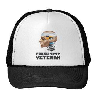 Crash Test Veteran Trucker Hat
