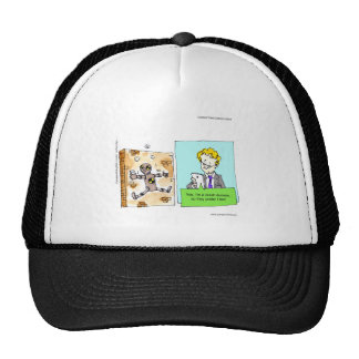 Crash Text Dummy Funny Mesh Hats