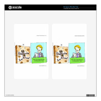 Crash Text Dummy Funny Skins For Kindle Fire