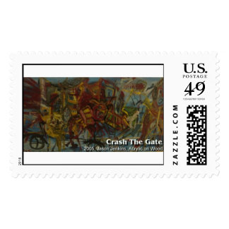 crash the gate stamps