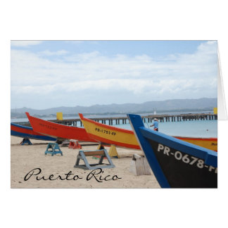 Crashboat, Puerto Rico Notecards Card