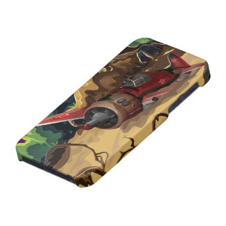 Crashed World War Fighter Aircraft Case For iPhone SE/5/5s