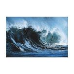 Crashing Ocean Waves Gallery Wrap Canvas