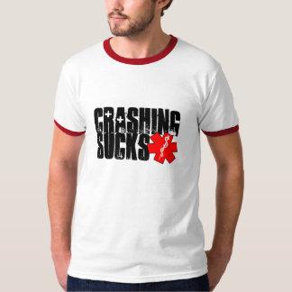 Crashing Sucks T-Shirt