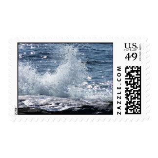 Crashing Wave Postage