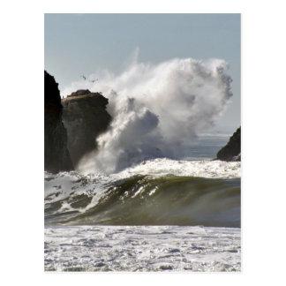 Crashing Wave Postcard