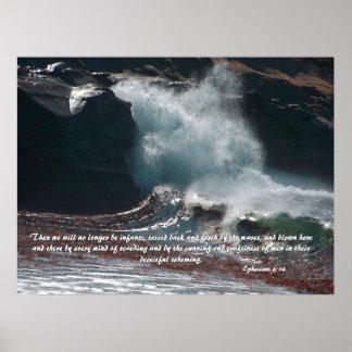 Crashing Wave Print