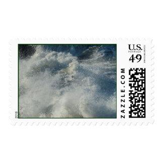 Crashing Waves At Shore Acres Oregon Pacific Ocean Stamp