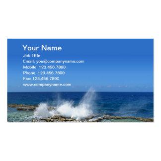 Crashing Waves Business Card Templates