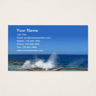 Crashing Waves Business Card
