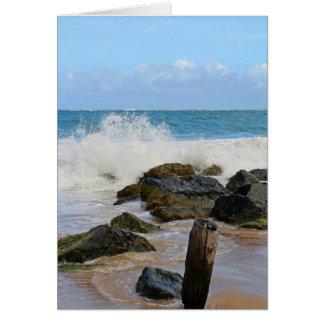 Crashing Waves Card