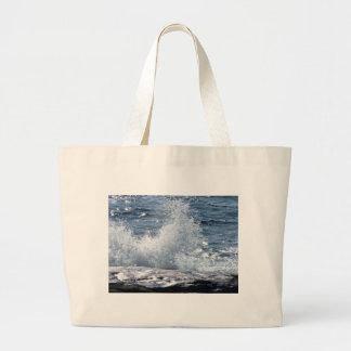 Crashing Waves Jumbo Tote Bag
