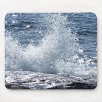 Crashing Waves Mouse Pads