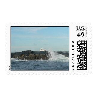 Crashing Waves Postage
