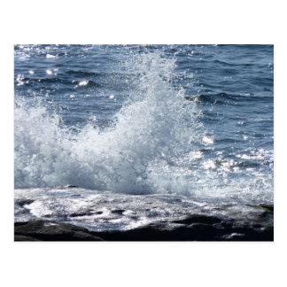Crashing Waves Postcard