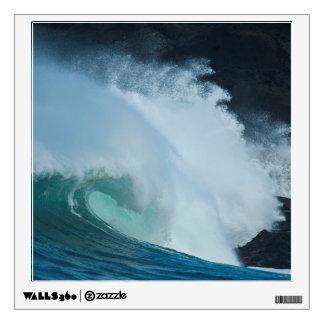 Crashing Waves Rocky Creek SP Oregon Pacific Ocean Room Decal