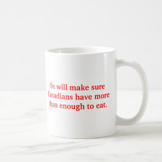 Crass Rob Ford for Prime Minister Coffee Mug