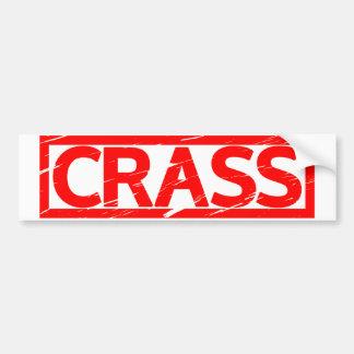 Crass Stamp Bumper Sticker