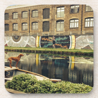Crate Brewery Canal Side River Lea Drink Coaster