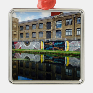 Crate Brewery Canal Side River Lea Metal Ornament