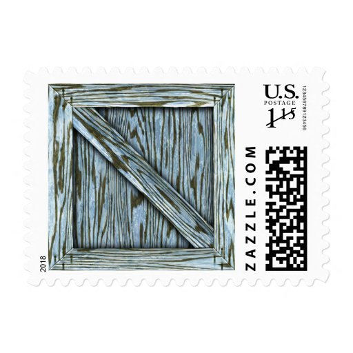 Crate - Postage - Blue
