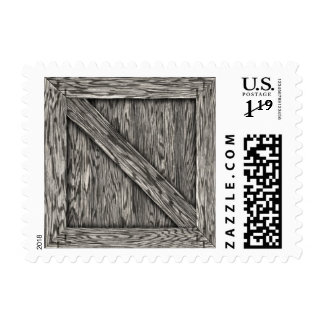Crate - Postage - Driftwood