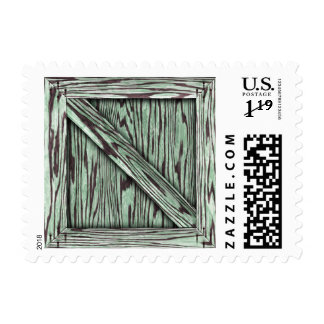 Crate - Postage - Green
