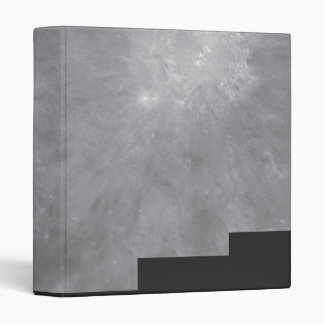 Crater Copernicus on Earth s Moon 3 Ring Binder