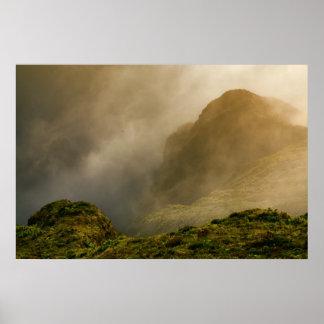 Cráter de Fogo, Azores Poster