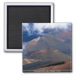 Cráter de Haleakala, Maui, Hawaii, los E.E.U.U. Imán