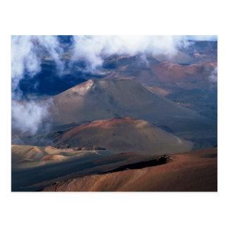 Cráter de Haleakala, Maui, Hawaii, los E.E.U.U. Postales