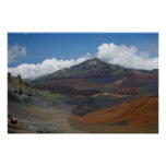 Cráter de Haleakala, Maui, Hawaii Posters