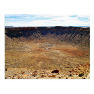 Cráter del meteorito de Barringer Tarjetas Postales