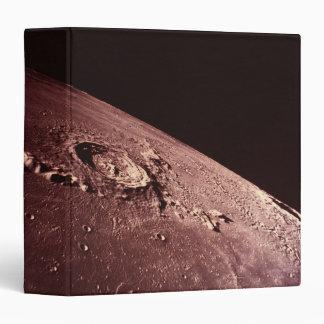 """Cráter en la luna carpeta 1 1/2"""""""