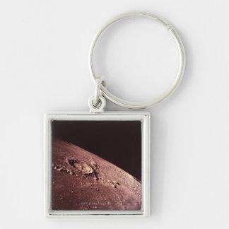 Cráter en la luna llavero