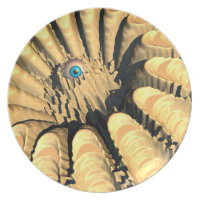 Crater Eye Party Plates