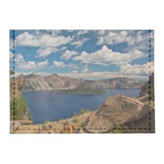 Crater Lake and Wizard Island, Crater Lake Card Wallet