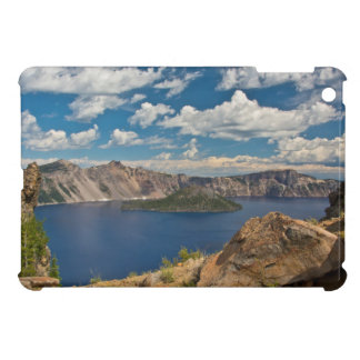 Crater Lake and Wizard Island, Crater Lake Case For The iPad Mini