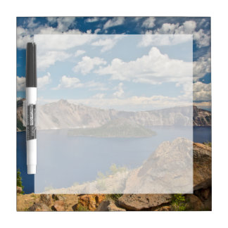 Crater Lake and Wizard Island, Crater Lake Dry Erase Board