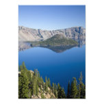 Crater Lake and Wizard Island Personalized Announcement