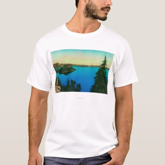 Crater Lake and Wizard Island View T-Shirt