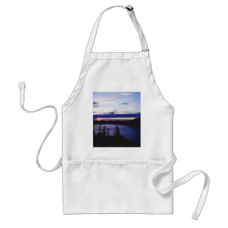 """""""Crater Lake at sunset"""" Adult Apron"""
