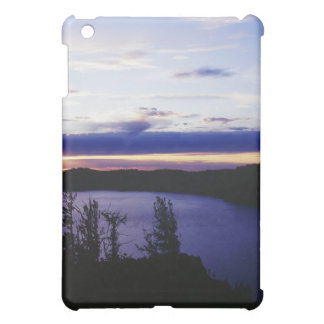 """Crater Lake at sunset"" Cover For The iPad Mini"
