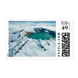 Crater Lake In Katmai National Park, Alaska Postage Stamps