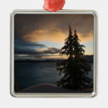 Crater Lake in Winter Ornament