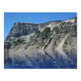 "Crater Lake 4.25"" X 5.5"" Invitation Card"