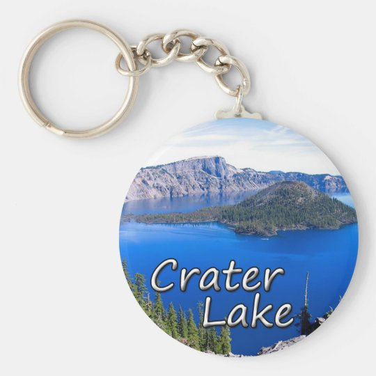 Crater Lake Keychain